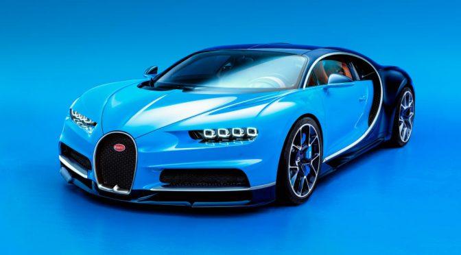 Bugatti Chiron es muy muy rápido