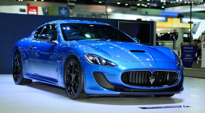 Un Maserati eléctrico